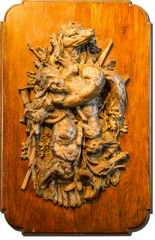 Théophile Hingre Tableau de chasse